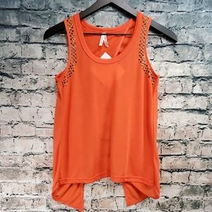 Color Story | Open Back Studded Tank Top